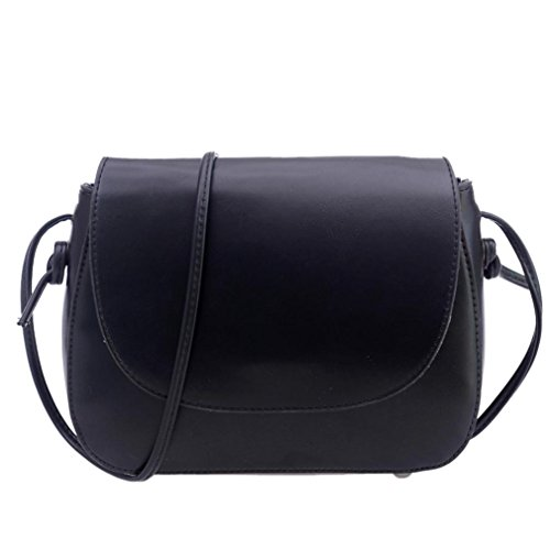 Transer  PU Leather Handbags & Single Shoulder Bags Women Zipper Bag Girls Hand Bag, Damen Schultertasche braun 22cm(L)*16(H)*6cm(W) schwarz