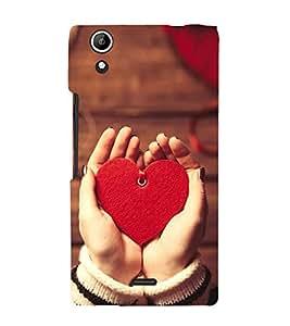 PrintVisa Designer Back Case Cover for Micromax Canvas Selfie 2 Q340 (Honey Love Design :: Little Heart Design :: Save the Heart Design :: Love Symbol Design :: Lovely design wallpaper)