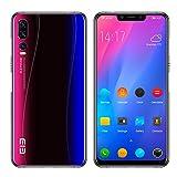 ELEPHONE A5 Telephone Portable debloqué - 6.18''FHD + Super-écran Complet Smartphone Ultra-Mince Android 8.1, Helio P60 6 Go + 128 Go, 5 caméras AI (caméra Frontale 20MP + 2MP), 4000mAh - Bleu étoilé