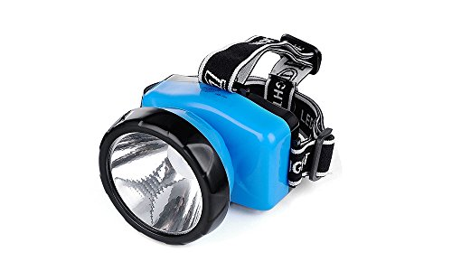 DP 1-Watt Rechargeable LED Head Mounted Light (Blue)