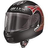 J.P.W Street Pin Stripe HES16011 Full Face Helmet.