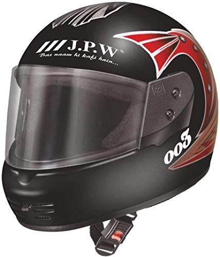 JPW J.P.W Street Pin Stripe HES16011 Full Face Helmet.