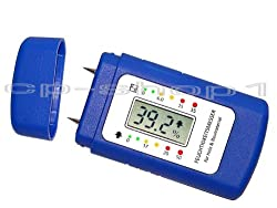 MOISTURE METER for walls, firewood, wood, screed, concrete and other building materials