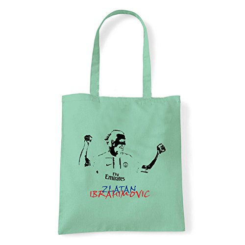 Art T-shirt, Borsa Shoulder Ibra, Shopper, Mare Menta