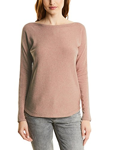 Street One Damen Pullover 300325 Emily, Rosa (Studio Rose Knit 10983), 42 (Knit Boot)