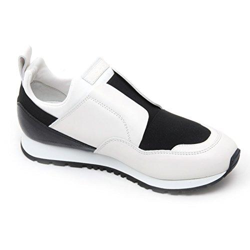 B7249 sneaker donna TOD'S scarpa sportivo yo nero/bianco shoe woman Bianco/Nero