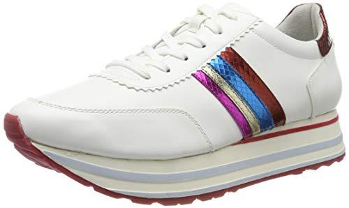 Tamaris Damen 1-1-23771-32 Sneaker, Weiß (White Comb 197), 38 EU