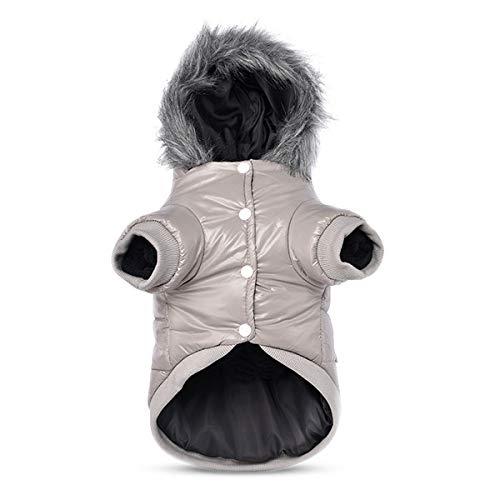 PETCUTE Manteau d'hiver pour Chien vêtements Chauds pour Chiens de Doublure en Polaire Chaude pour Chien imperméable