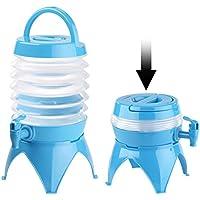 Pearl Bidón de agua: plegable fässchen, grifo, soporte, 3,5 L