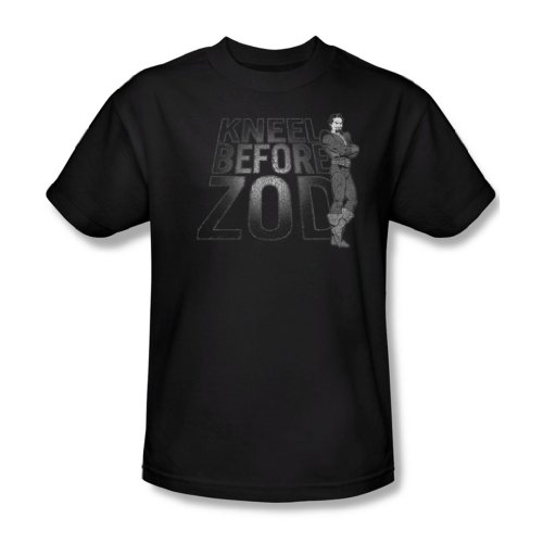 Dc - Männer knien Zod T-Shirt Black