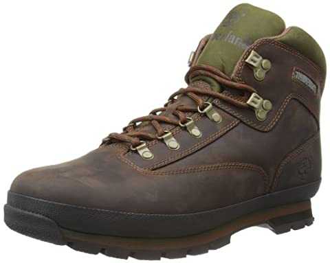 Timberland Eurohiker Leather, Chaussures montantes homme - Marron - 42 EU
