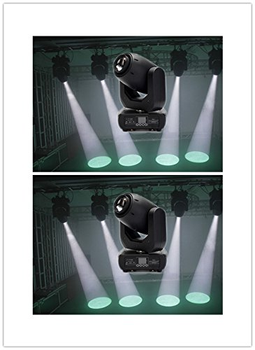 2PCS Beleuchtung der Phase von 150 W LED GOBO Spot Moving Head licht Phase Beleuchtung