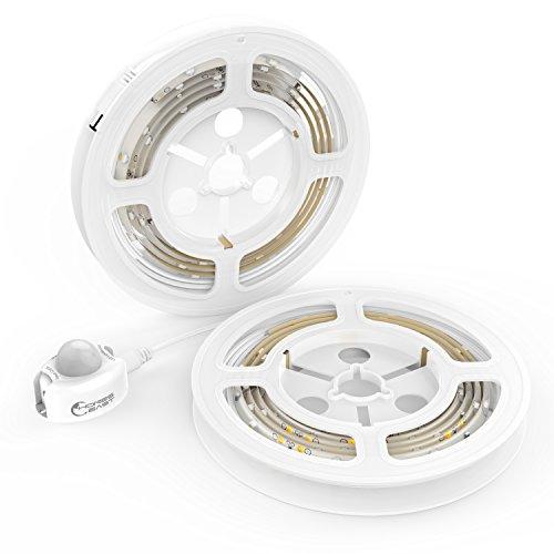 honesteast bett licht led streifen licht bewegungsaktivierte led lichtleiste automatischer. Black Bedroom Furniture Sets. Home Design Ideas