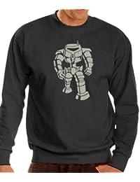Big Bang Theory - robot Man sweat-Shirt - Jersey S-XXXL varios coloures negro/plateado Talla:xx-large