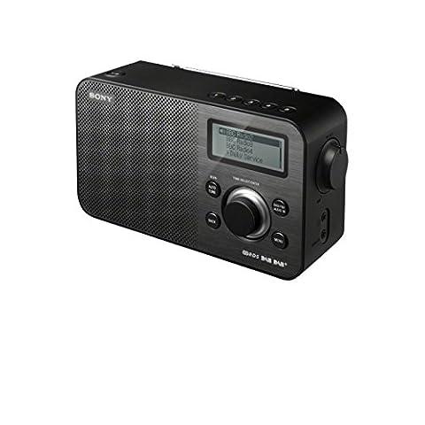 Sony XDR-S60DBPB Digitalradio - Nero Radio Dab