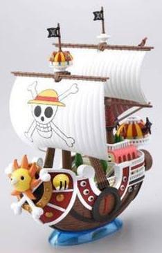 One Piece Grand Ship Collection Plastic Model Kit Thousand Sunny Sammelfigur von Heo GmbH Deutschland