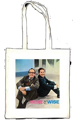 MORECAMBE et Wise assis Totebag