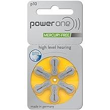 baterías de aparato para ayuda para sordos 60 piezas Varta Powerone p10 PR70 100 mAh 1,4 V