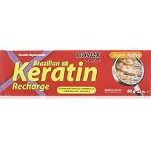 Novex Recarga de Queratina Brasileña 80gr - Brazilian Keratin - Sin sal, sin parabenos,