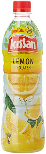 Kissan Lemon Squash Bottle, 750 Ml