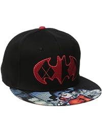 DC Comics Sublimated Harley Quinn Logo Mens Snapback Baseball Cap