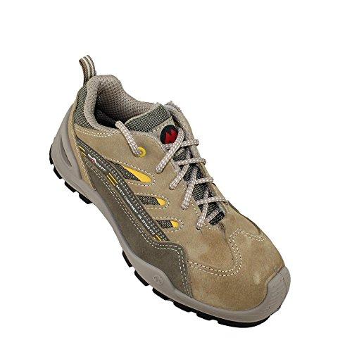 Aimont moschiferus s1P sRC chaussures de travail chaussures chaussures berufsschuhe businessschuhe plat beige Beige - Beige