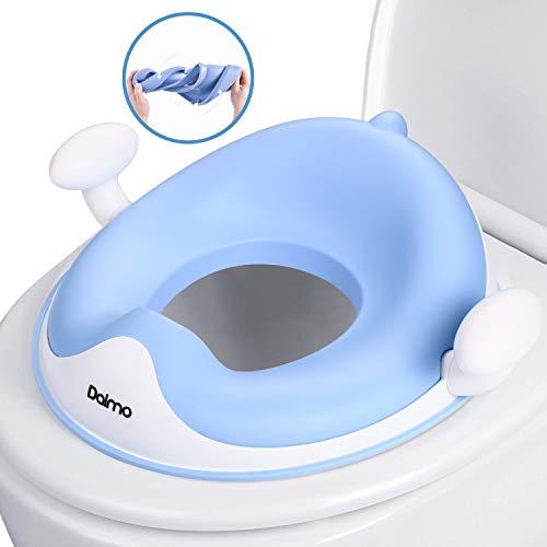 WC Sitz Kinder Toilettensitz Toilettentrainer Lerntöpfchen mit Spritzschutz DE