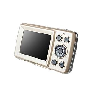 Sharplace 4x Optical/Digital Zoom Camera 16MP CMOS 2.4''TFT LCD HD 720P Flash Camcorder Gold