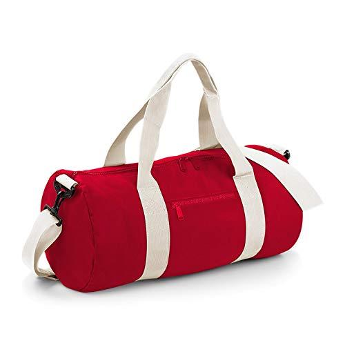 Bagbase Seesack / Reisetasche, 20 Liter One Size,Rot/Naturweiß