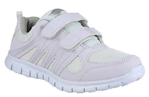 Mirak Milos Velcro Ladies Sports Shoe White Size 41