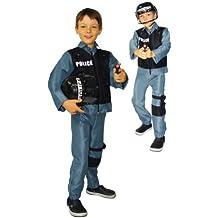 Cesar - Disfraz de policía para niño, talla 8 - 10 años (F172-003)