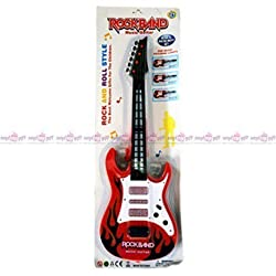 99Dotcom Rockband Multicolour Musical Guitar