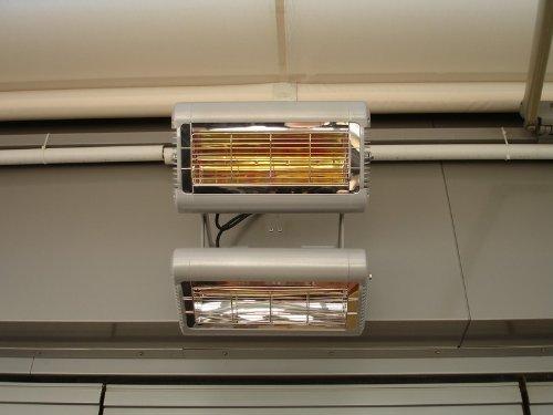 TANSUN Infrarot-Quarzheizstrahler 'Sorrento IP' 2,0 kW, Farbe:Weiss - 5