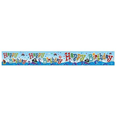 Expression Factory Folien Banner (6 St) (2.6m) (Geburtstags ()