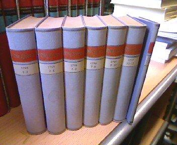 Die Horen. Eine Monatsschrift herausgegeben von Schiller