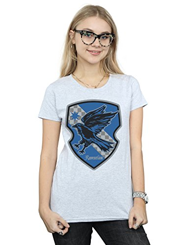 Harry Potter Women's Ravenclaw Crest Flat T-Shirt