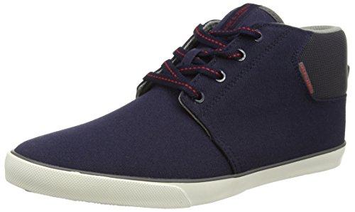 JACK & JONES Jjvertigo Canvas Sneaker Navy Blazer Herren Hausschuhe Blau (Navy Blazer)