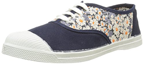 Bensimon Tennis Campus Marion Bartoli, Baskets Basses Femme Multicolore (516 Marine)