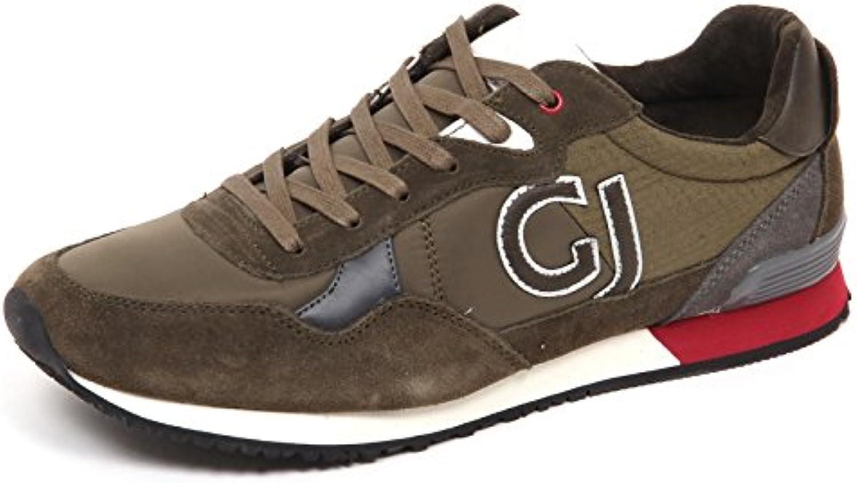 E5322 Sneaker uomo Green Gaudi' Jeans Scarpe Suede/Tissue Shoe Man -