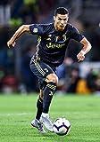 Generic Christiano Ronaldo Juventus Figuren Auswärts Fußball Plakat 10800 (A3-A4-A5)