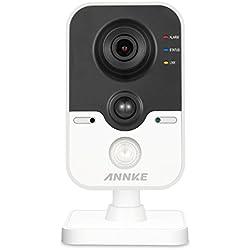 ANNKE IP Überwachungskameras, 1080P HD Netzwerk Kamera mit PIR Alarm Sensor, Zweiweggespräch, Infrarot Nachtsicht, Bewegungserkennung, Smart VCA