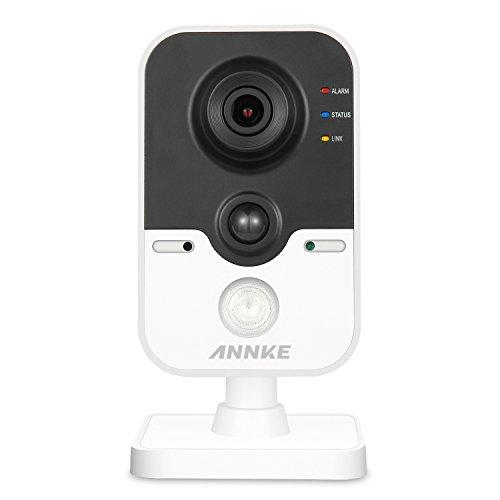 Intrusion Mini (ANNKE IP Überwachungskameras, 1080P HD Netzwerk Kamera mit PIR Alarm Sensor, Zweiweggespräch, Infrarot Nachtsicht, Bewegungserkennung, Smart VCA)