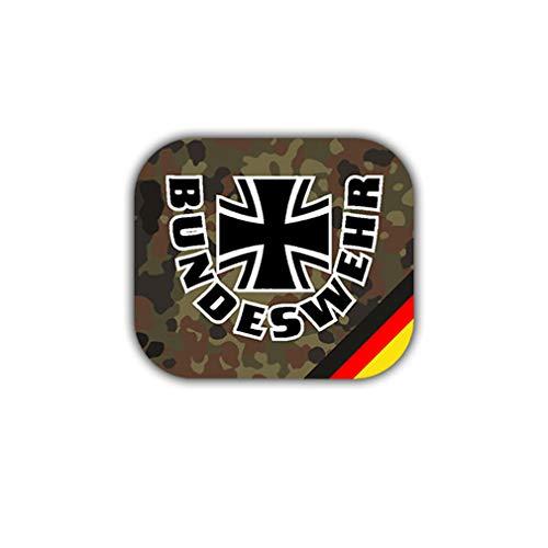 Aufkleber/Sticker Bundeswehr Wappen Abzeichen Deuschland Militär 7x6cm A1855 -