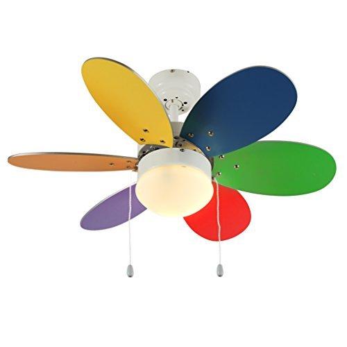 minisun-ventilatore-a-soffitto-moderno-di-colore-bianco-30-76cm-con-6-pale-multicolorate-colori-viva