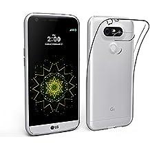 LONVIPI® Coque LG G5 Etui Housse Protection cover Transparent, mince, léger, flexible En Silicone et TPU pour LG G5 extra fine Housse LONVIPI®