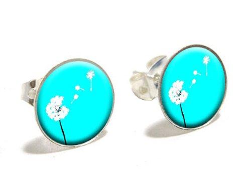 dandelion-make-a-wish-novelty-silver-plated-stud-earrings