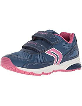 Geox J Bernie Girl B, Zapatillas Para Niñas