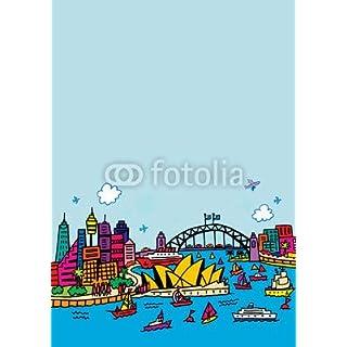 adrium Poster-Bild 20 x 30 cm: Sydney, Bild auf Poster