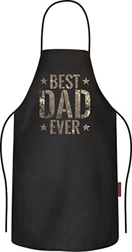 BBQ-Grillschürze Kochschürze für den besten Papa: Best Dad Ever im camouflage Look (Camouflage-einladungen)