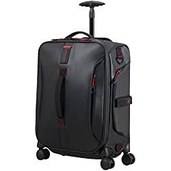 SAMSONITE Paradiver Light - Spinner Duffle Bag 55/20 Bolsa de Viaje, 55 cm, 50 Liters, Negro (Black)
